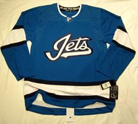 c6e8493282a WINNIPEG JETS size 46   sz Small - 3rd Style ADIDAS NHL HOCKEY JERSEY  Authentic