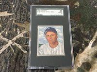 "1950 BOWMAN BASEBALL CARD #155 FRANK ""SPEC "" SHEA ,SGC 88/8,NEW YORK YANKEES"