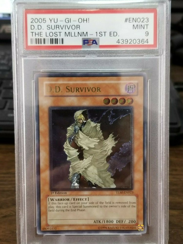 Yu-Gi-Oh The Tomb of Resurrection SUPER RARE dp2-de030