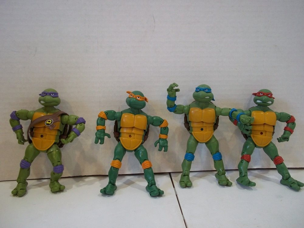 Teenage Mutant Ninja Turtle Action Figures Raphael Leo
