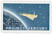 #1193 – 1962 4c Project Mercury