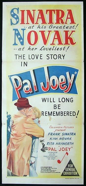 PAL JOEY MOVIE POSTER Frank Sinatra RARE HOT VINTAGE 2
