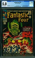 FANTASTIC FOUR #49, CGC 5.0 VGF - Auction Begins Soon