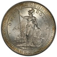 1930-B Great Britain Trade$ PCGS Certified MS65 Prid-27