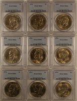 1974 Eisenhower Ike Dollar Coin PCGS MS-64