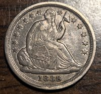 1838 Liberty Seated Half Dime