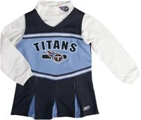 TENNESSEE TITANS LITTLE GIRLS CHEERLEADER OUTFIT