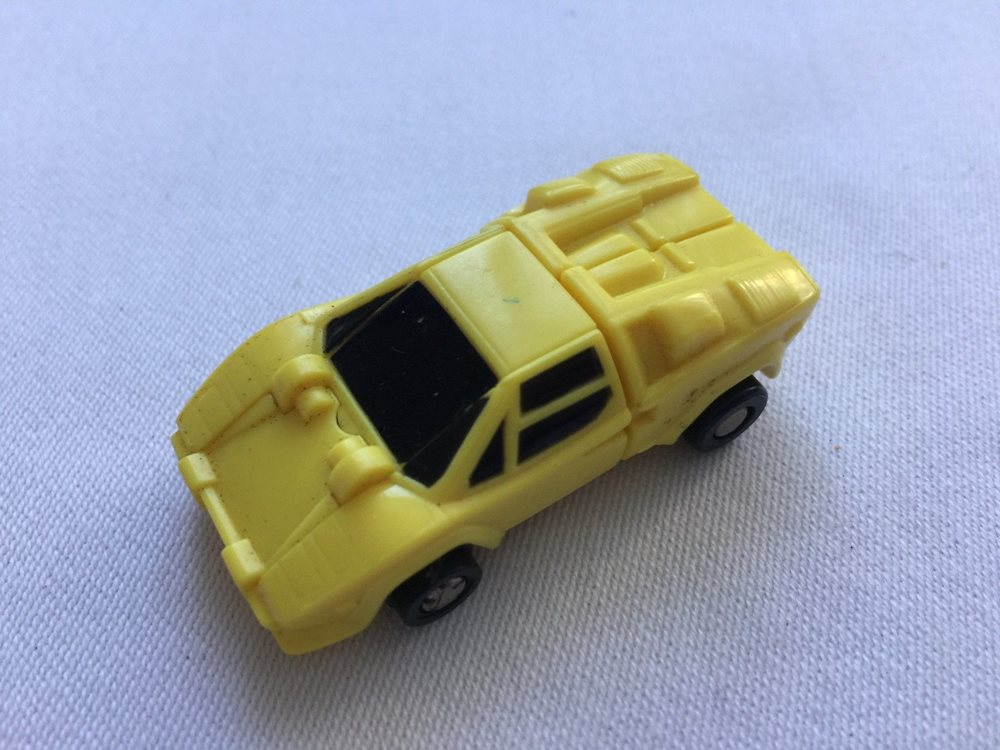 Transformers G1 1989 Tailspin MICROMASTER Race Car Patrol figure amb