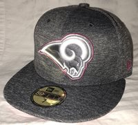 New Era 59Fifty Los Angeles Rams 2016 BCA Breast Cancer 92926f5fc
