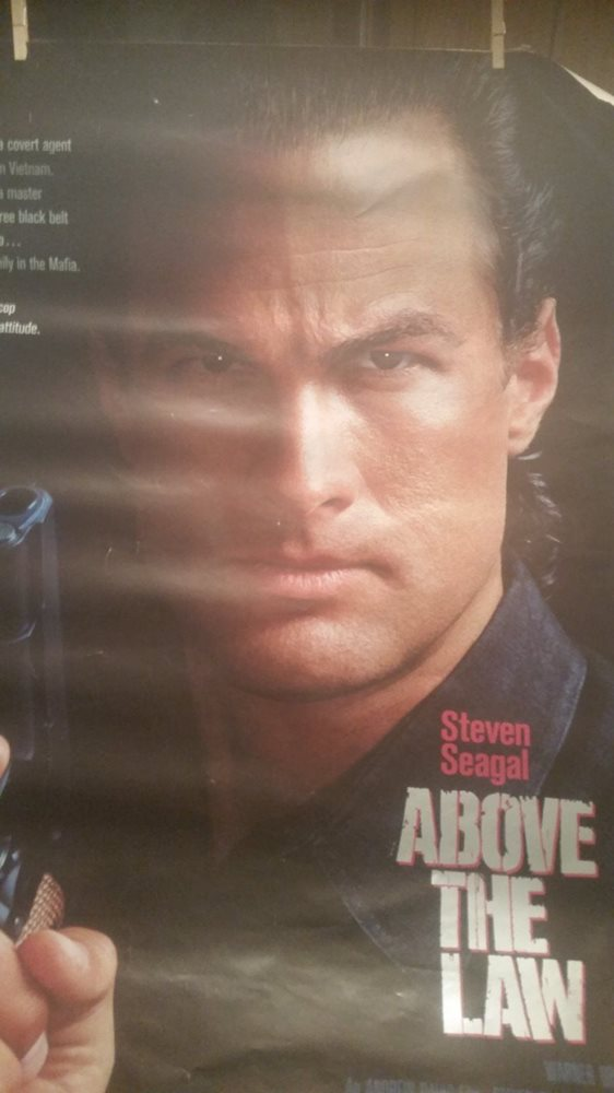 Above the Law Movie Poster rare rolled