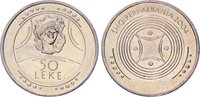 Albania Coin 50 Leke, 2004. Archeology Beauty of Durres (Dyrrachium). UNC