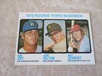 1973 Topps Mike Schmidt rookie baseball card #615 A beauty! Send to PSA?