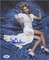 Sarah Michelle Gellar Nice Signed 8x10 Photo Certified Authentic PSA/DNA COA