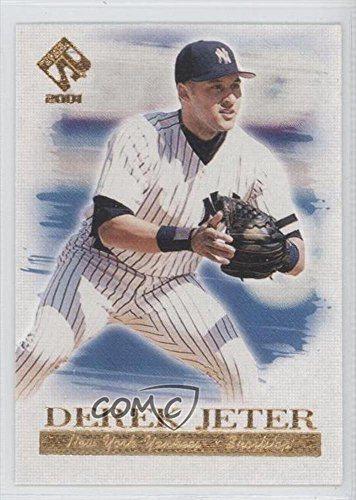 Derek Jeter Baseball Card 2001 Pacific Private Stock Artists Canvas 14