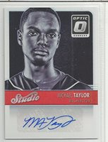 Michael Taylor Baseball Card 2016 Panini Donruss Opti