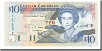10 Dollars Undated (1994) Osten Karibik Staaten Km:32k