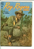 ROY ROGERS #28-1950-WESTERN-PHOTO COVERS-TRIGGER-BULLET-good/vg