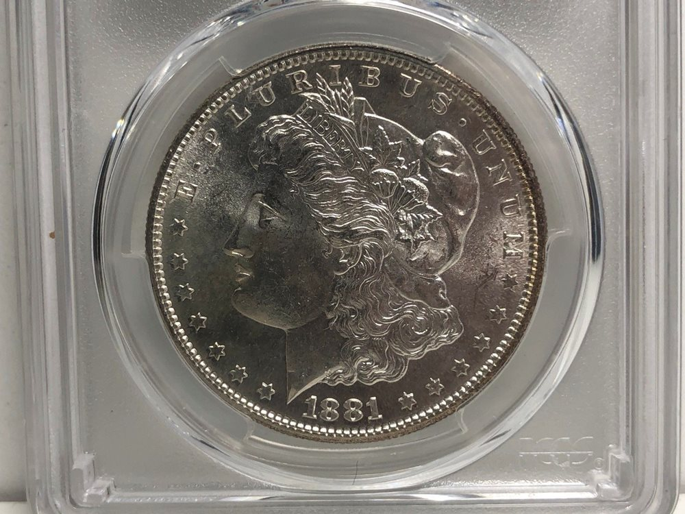 Very Nice 1881 S Morgan Silver Dollar Pcgs Cleaned Unc Detail 1 Cent Auction Unc Details Pcgs Auction Prices