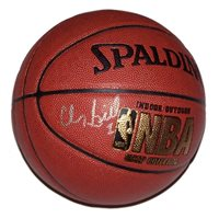 A Spalding NBA basketball signed by Chauncey Billups of the Denver Nuggets. Comes with a Certificate of Authenticity.
