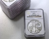 2014 ASE $1 NGC MS70 AMERICAN SILVER EAGLE ~ MULTIPLE COINS AVAILABLE!