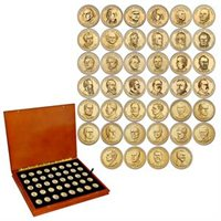 Presidential Dollars Collection – 2007-2020 40 coins including George H.W. Bush