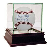 "Joe Morgan Signed MLB Baseball w/ Â""2x MVP 75-76Â"" insc"