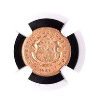Costa Rica: 10 Centimos 1929 GCR, NGC UNC, KM# 170