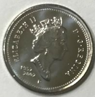 Canada 2007 BU Nice UNC 10 cent Canadian Dime from mint roll