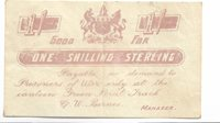 South-africa- 1 Shilling 1899 Pow