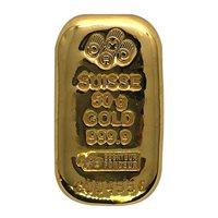 50 GRAM GOLD BAR PAMP CAST