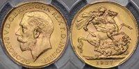 1927 Pretoria Sovereign - PCGS MS65 1927 Pretoria Sovereign