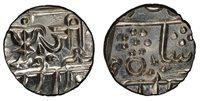 INDIA-PRINCELY STATES. Gwalior. Jayaji Rao. (1865-69) AR 1/2 Rupee. PCGS MS66