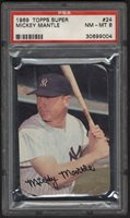 Lot # 147: 1950s-60s Mickey Mantle Collection with PSA 8 1969 Topps Super (17)
