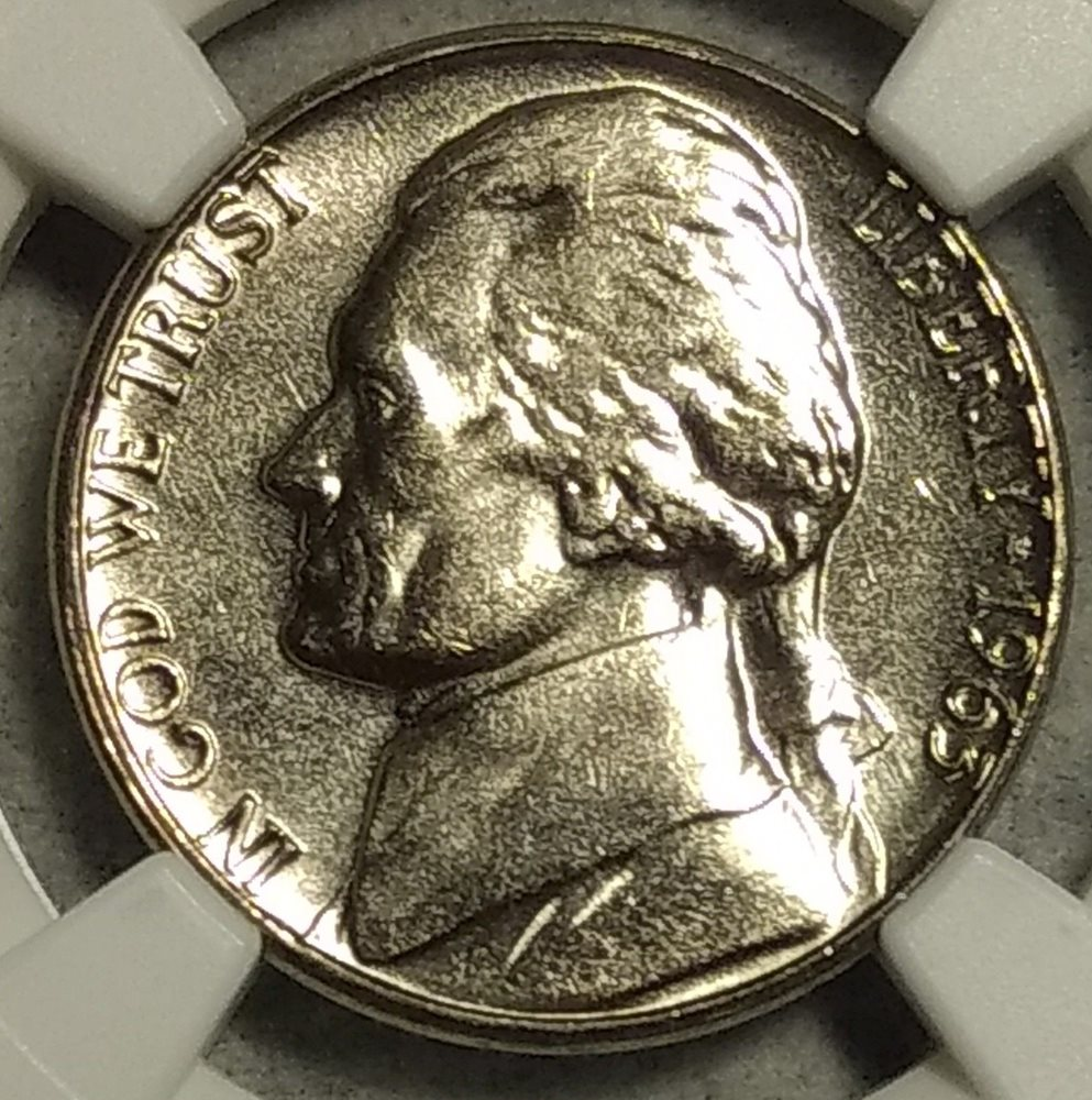 NGC MS-64 1963-D Jefferson Nickel! Sharp coin with near full steps