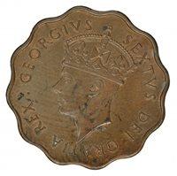 1949 CYPRUS 1/2 PIASTRE, aUNC