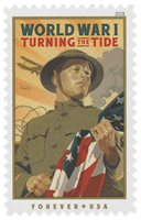#5300 – 2018 First-Class Forever Stamp - World War I: Turning the Tide