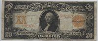 1906 Gold Certificate $20