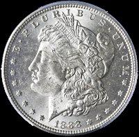 1888 $1 MS64 PCGS
