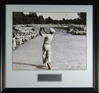 Ben Hogan 1 Iron 1950 US Open Autograph Framed