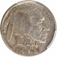1921-S 5C Buffalo Nickel PCGS VF30