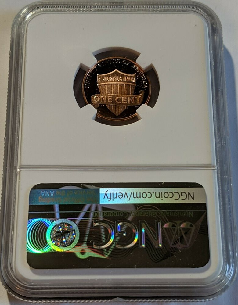 2000-S Lincoln Penny Proof 1 Cent Coin NGC PF70 Ultra Cameo