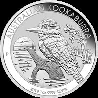 2019 1 OZ AUSTRALIAN SILVER KOOKABURRA