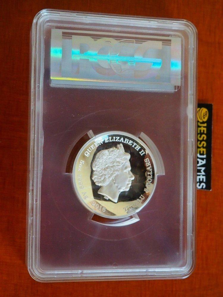 2016-P $5 Pearl Harbor 5 oz Silver Coin PCGS PR70DCAM