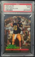 2000 Ultra Gold Medalion Tom Brady Rookie Rc PSA 9