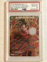 Hyper Evolution Super Saiyan 4 Son Goku BT3-123 SCR Dragon Ball Super PSA 10