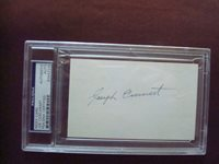 Joe Coscarart 1935-36 Boston Braves PSA/DNA certified autograph d. 1993.