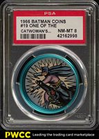 1966 Batman Coin One Of The Catwoman's #19 PSA 8 NM-MT (PWCC)