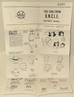 Marx GIRL FROM UNCLE April Dancer EQUIPMENT MANUAL repro Johnny BEST OF THE WEST