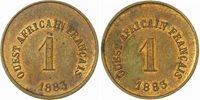 Me-einheit zu 5 Francs 1883 Französische Kolonien-ouest Africaine Francaise