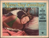 Never Say Goodbye Lobby Card #4 1956-Cornell Borchers